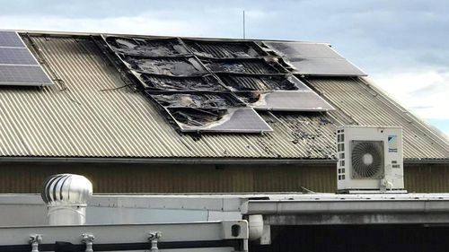 There has been a rise in solar panel fires due to dodgy installations.